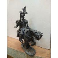 Солдатик оловянный(военно-историческая миниатюра) конный шляхтич Речи Посполитой