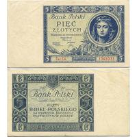 5 злотых 1930, Польша, Bank Polski