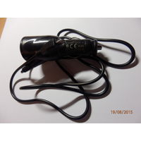 Автомобильное зарядное в прикуриватель 1 000 миллиампер штеккер микро-USB