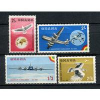Гана - 1958 - Авиация - [Mi. 28-31] - полная серия - 4 марки. MLH.
