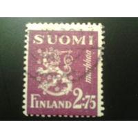 Финляндия 1940 стандарт, герб