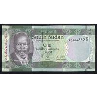 SOUTH SUDAN/Южный Судан_1 Pound_nd(2011)_Pick#5_UNC
