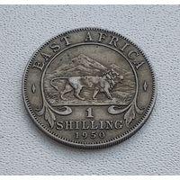 Британская Восточная Африка 1 шиллинг, 1950 7-14-6