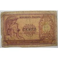 Италия 100 лир 1951 г. (d)