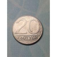 20 злотых 1990