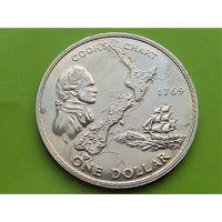 Новая Зеландия 1 доллар 1969