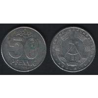 Германия (ГДР) km12.2 50 пфенниг 1968 год (f50)(ks00)