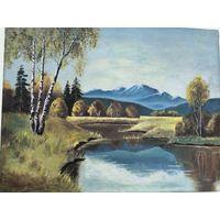 Картина, помогите опознать художника, подпись на втором фото