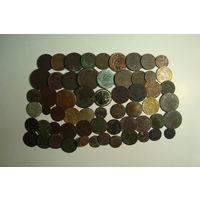 Сборный лот  (60 шт) есть серебро.                              (6122)