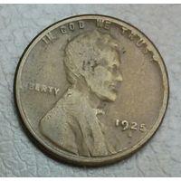 США 1 цент 1925S