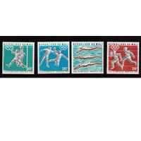 Мали-1976,(Мих.535-538)  **   Спорт, ОИ-1976