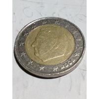 2евро.Бельгия 2000г.