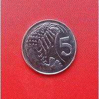 05-38 Каймановы острова, 5 центов 2008 г.