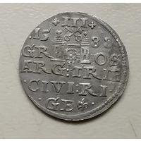 Трояк 1588г Рига.