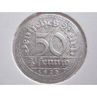 50 Пфеннигов 1920 J (Германия)
