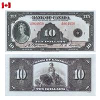 [КОПИЯ] Канада 10 долларов 1935г. (English)