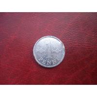 1 пенни 1970 год Финляндия