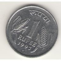 1 рупия 1997 г. МД: Нойда.