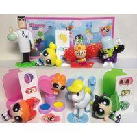 Серия игрушек из киндера суперкрошки