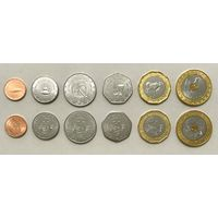 Мавритания набор 6 монет 2017-2018 UNC