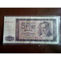 5 марок 1964 год Германия
