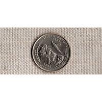 США квотер 25 центов 2006/Южная Дакота(Nv)