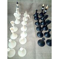 Шахматы СССР пластмасса некомплект Юбилейные
