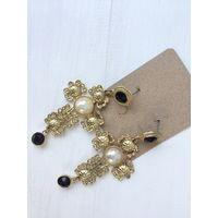 Сережки в стиле Dolce Gabbana византийская коллекция