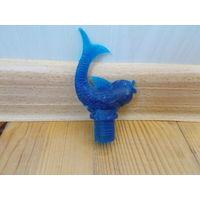 Пробка СССР золота рыбка в синем цвете