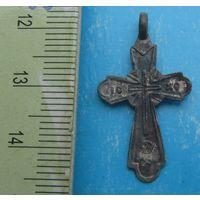 Старый серебряный крестик 84 пр.
