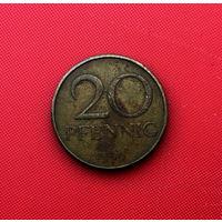 56-08 ГДР, 20 пфеннигов 1969 г.