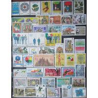 Сток чистых марок Италии, полные серии