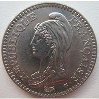 Франция 1 франк 1992 г. 200 лет Французской Республике (g)