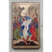 Икона Воскресение Христово старая