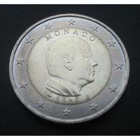 Монако 2 евро 2009г.