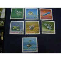 Манама - космос спутники 1968 из серии 10 шт