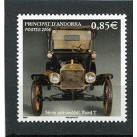 Андорра французская. Автомобиль Форт Т (1908 года)