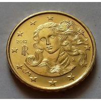 10 евроцентов, Италия 2012 г., AU