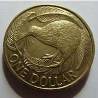 Новая Зеландия 1 доллар 2008 г