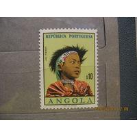 Португальская  Ангола.  Этнос.  1961г.