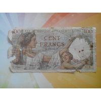 Франция 100франков 1941г.