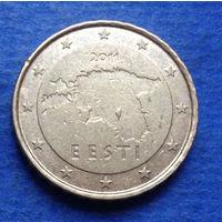 Эстония 10 евроцентов 2011