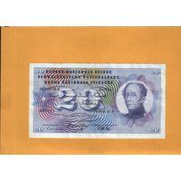 Швейцария  20 франков 1967г.