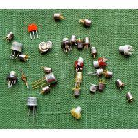 Транзисторы сборный лот (цена за все)