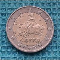 Греция 2 евро 2002 года
