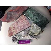 Натуральные камни для творчества, пластины из камня.