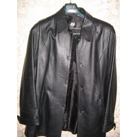 Пиджак женский кожаный