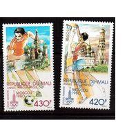 Мали-1979,(Мих.686-687)  **  Спорт, ОИ-1980