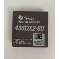 Ретро процессор Texas Instruments TI 486DX2-80
