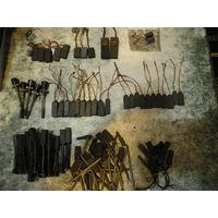Щетки графитовые для электродвигателей, разные.